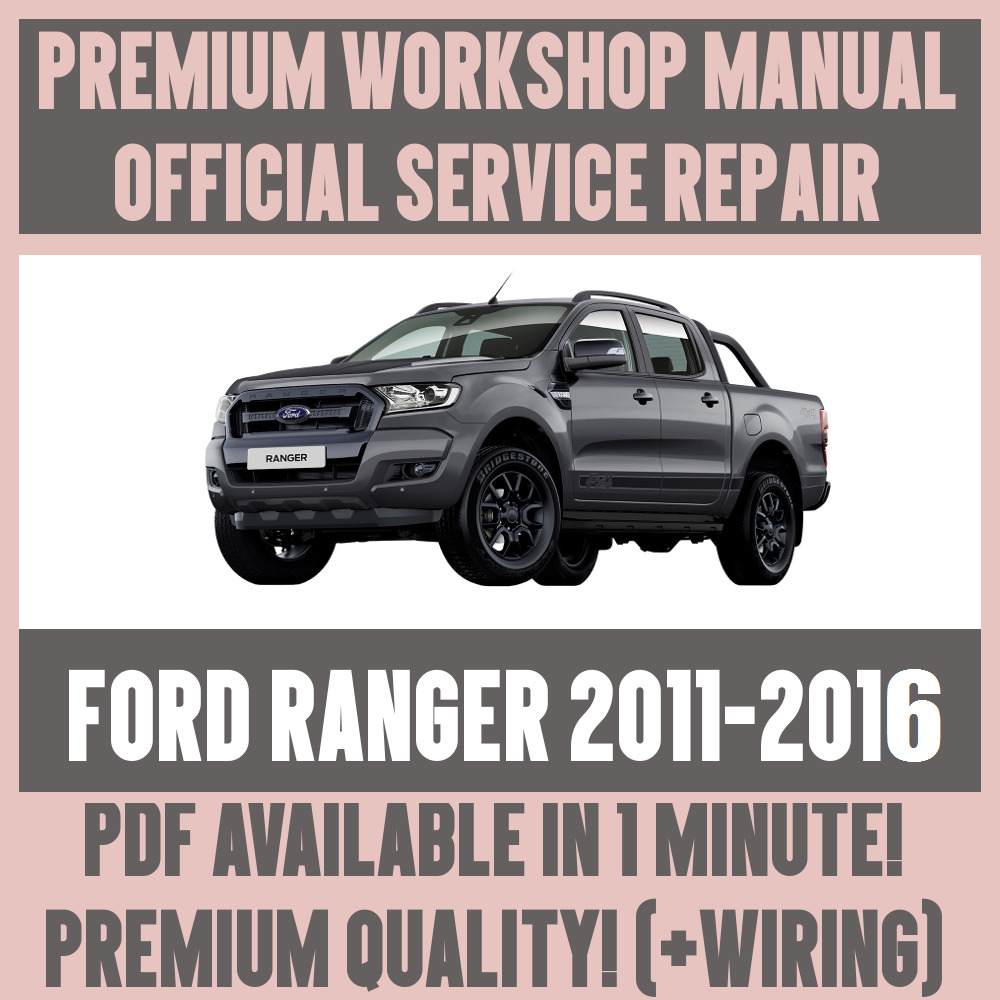 2011 ford ranger towing guide