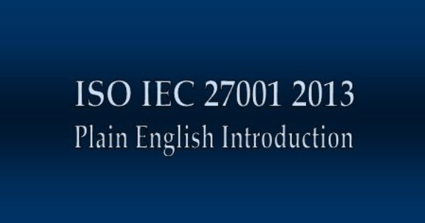 iso 27001 a plain english guide