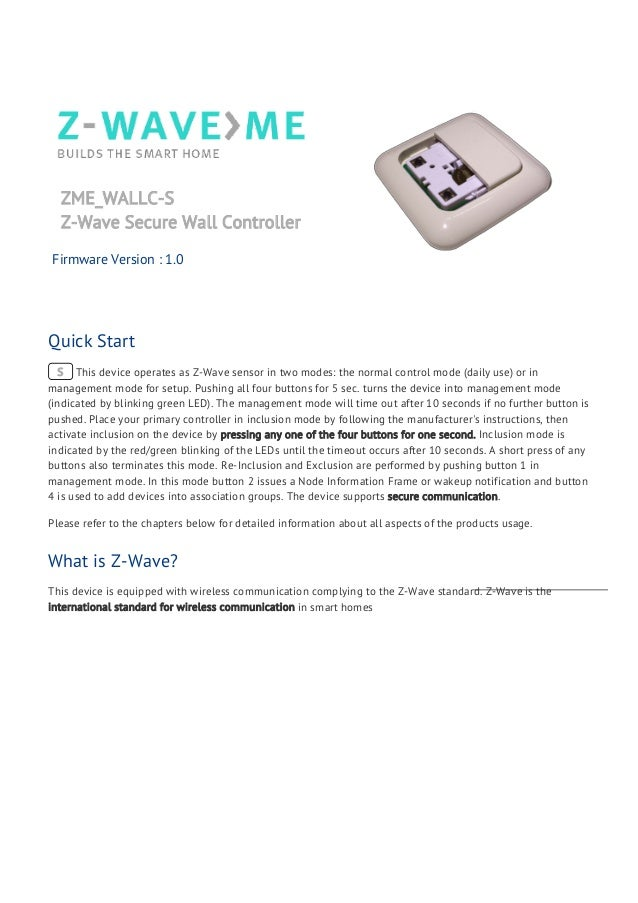 z-wave zniffer user guide