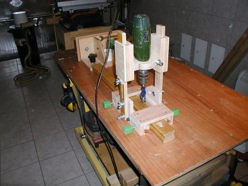 bunnings portable jig drill guide