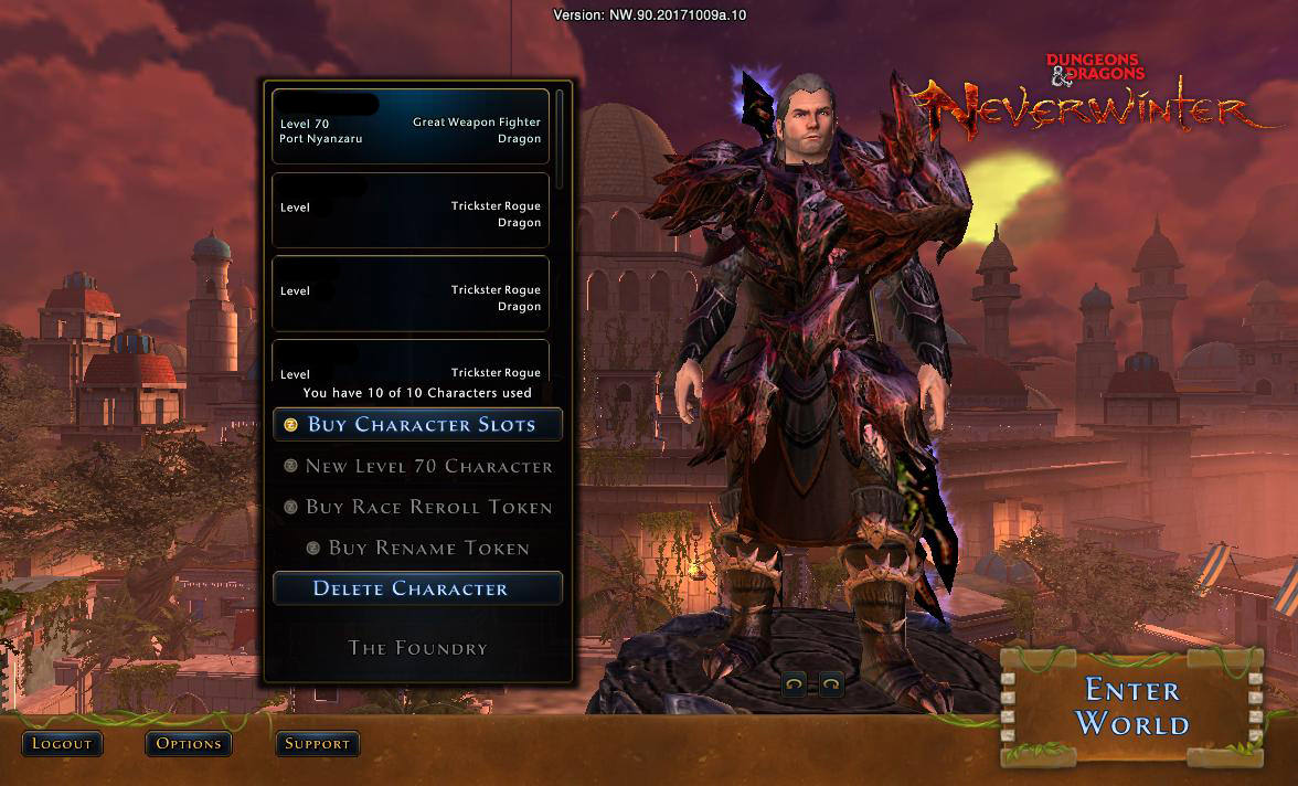 neverwinter guide for weapon enchantments