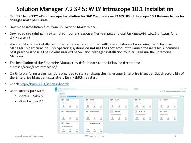 wily introscope 10.1 installation guide